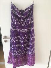 Primark Bandeau-Kleid Lila Gr. 42