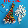 10Sets Micro JST 1.25mm 4-Pin Male Connector with Wires and Female Plug