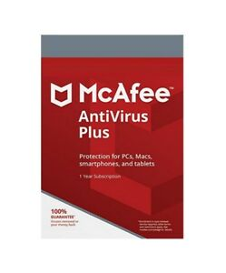 McAfee AntiVirus Plus - 1 Device / 1-Year - Global - CD
