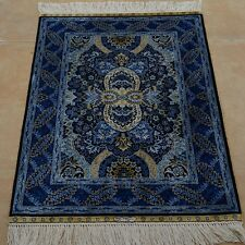 Clearance! 2'x3' Handknotted Silk Persian Area Rug Home Decor Carpet 1925