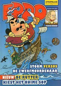STRIPBLAD EPPO 2009 nr. 19 - DE RUYTER(COVER)/HERMAN ROOZEN/STORM/FRANKA/HAAS