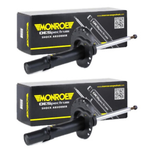 FOR VW TOURAN 1.9TDI 2003>2011 PAIR FRONT SUSPENSION MONROE SHOCK ABSORBERS X2