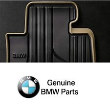 For F30 Sedan Set of Front Left & Right Beige Black All Weather Floor Mats