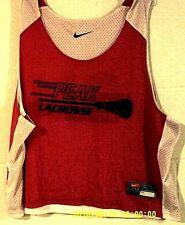 Guc, (N I K E ), Peak Lacrosse,( Reversible ) Jersey,Red/Black/White , Adult