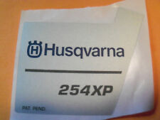 NEW HUSQVARNA RECOIL STARTER DECAL FITS 254 CHAINSAWS 503619812 OEM FREE SHIP
