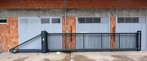 8,0x1,8 AL Industrietor Schiebetor Hoftor freitragend E-Antrieb SOFORT verfügbar