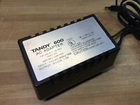 Tandy 600 Ac Adapter ONLY For RADIO SHACK TRS-80