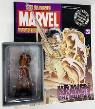 The Classic Marvel Figurine Editon Kraven the Hunter Issue #23