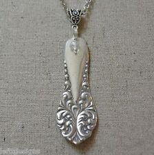 LEONORA ~ 1905  ~  Antique Silver Plate  Flatware / Silverware Necklace
