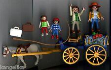 Playmobil--3117--Pferdekutsche-mit Zubehör-Figuren-ect.