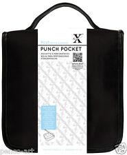 Papermania Negro Estuche 9 Ajustable Compartimentos, Punch Bolsillo xcu260100