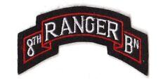 United States 8th  Ranger Battalion Shoulder Tab