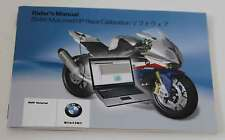 BMW S 1000 RR rider's Manual HP RACE calibrazione Japanese