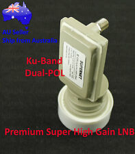 Supernet H-110 Satellite Dish KU Band Premium Super High Gain LNB 11300 LNBF