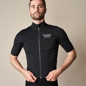 Waterproof Cycling Jersey For Men Short Sleeve Maillot Black Bike Shirt Tops