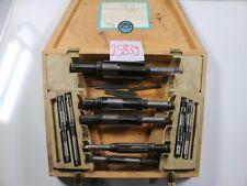 HUNGER Reibahlen Handreibahlen Ausführung D Satz DEN 8-45mm #25839