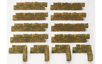 Hornby R8539 OO Gauge Cotswold Stone Wall (Pack No 1)