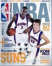 Nba.Steve Nash & Amare Stoudemire, Phoenix Suns,Ray Allen,Marco Belinelli,iii