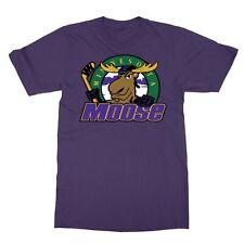 Minnesota Moose Defunct St. Paul Mn Ihl Hockey Team Retro Men's T-Shirt