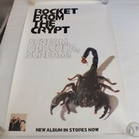 Rocket From the Crypt Scream Dracula Scream Poster 1995
