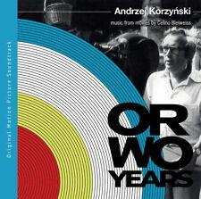 Andrzej Korzyński ORWO YEARS. MUSIC FROM MOVIES BY CELINO BLEIWEISS CD Korzynski