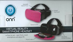 Headset Virtual Reality Universal Android - Electronic smart Phone - ONN TM