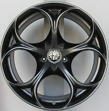 "ALFA ROMEO GIULIA  QV ALLOY WHEELS 19""  *4  156112959 1661129580 STEPPED GENUINE"