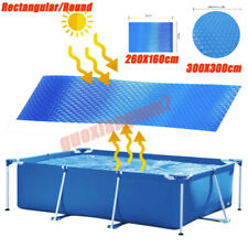 Rectangular/Round Heat Retaining Solar Swimming Pool Cover For Above-Ground Pool