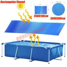 Rectangular/Round Heat Retaining Solar Swimming Pool Cover 300X300cm