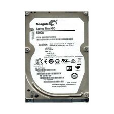 HARD DISK INTERNO NOTEBOOK 2,5 SEAGATE 500GB SATA 5400pm 16MB ST500LT012