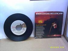 Old 45 RPM Record - Riva 884 635-7 John Cougar Mellencamp Rain On The Scarecrow