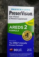 Bausch + Lomb PreserVision Eye Vitamin AREDS 2 Formula 90 Softgels EXP 11/2019