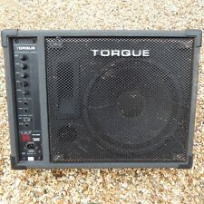 Torque TM100P Active Powered Wedge Stage Monitor Amplifier Band DJ PA Speaker