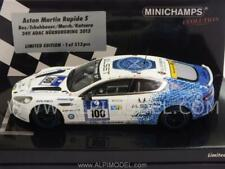 Aston Martin Rapide S Nurburgring 2013 Bez - Schu 1:43 MINICHAMPS 437131300