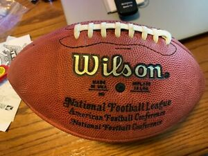 Keith Jackson Signed Eagles Packers Official NFL Football Auto Autographed Ball