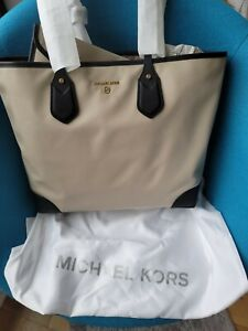 Michael Kors Ladies Eva Extra Large Nylon Gabardine Tote Bag  NWT