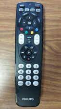 Phillips SRP4004/27 Universal Remote Black TV Cable DVD VCR