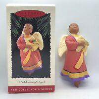 1995 Hallmark Keepsake A Celebration of Angels #1 in Series Christmas Ornament