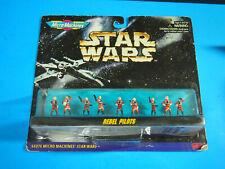 1996 Micro Machines Star Wars REBEL PILOTS Action Figures