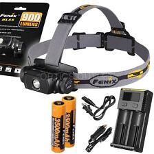 Fenix HL55 900 Lumen Headlamp w/ 2x 3500mAh 18650 & Smart Charger (AC/Car)