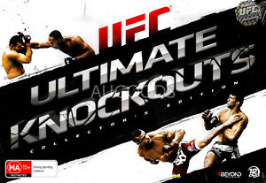 UFC Ultimate Knockouts - DVD Series Rare Aus Stock New Region 4
