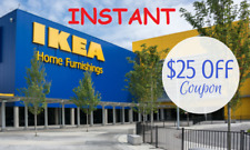 Ikea Coupon $25 Off $250 Valid on Any Purchase *Instant* In Store Only Exp 10/4