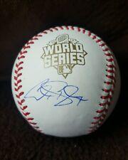 ALEX GORDON signed 2015 World Series Baseball KANSAS CITY ROYALS w/COA