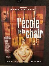 Affiche De Cinema Vintage- L'ECOLE DE LA CHAIR - 120x160cm -1998