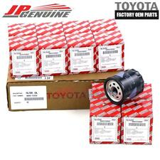GENUINE TOYOTA LEXUS OEM ENGINE OIL FILTER SET OF 12 90915-YZZG2 / 90915-YZZG1