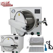 Steel #304 Medical Steam Sterilizer Dental Lab Sterilizer Equipment 900W 18L