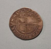 1573 Great Britain 6 Pence Silver Coin UK Elizabeth I England