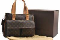 Authentic Louis Vuitton Monogram Multipli Cite Shoulder Bag M51162 Box LV A5757