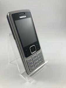 Nokia 6300 silber guter Zustand Simlockfrei 12 Monate Gewährleistung