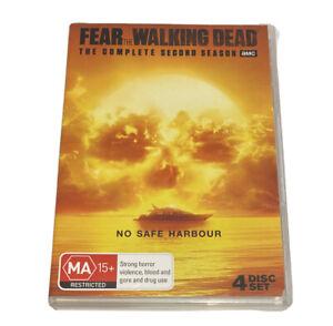 Fear The Walking Dead : Season 2 (DVD, 2017, 4-Disc Set)